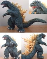 Godzilla 2000 Sculpture - Various Views by AWMStudioProductions