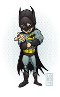 Bat-Wolowitz by lordmesa