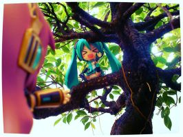 Miku, Just Get Down, its..... by BianOka