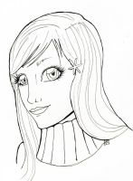 Inuoe Orihime Lineart by lionbeforelamb