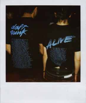daft punk tees by mysticblu3