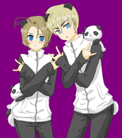 PANDA! Germany and Canada~ by Suck-It-Bro