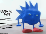 Gotta go fast by rubbe