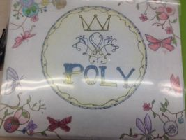 Poly cover book by AquaAngel1010