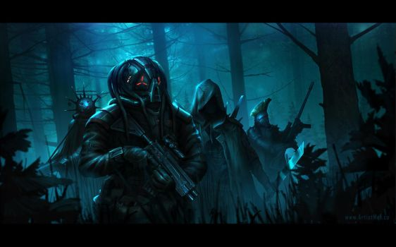 Forest Gangsters by ArtistMEF