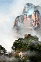 Huangshan -8 by DawnRoseCreation