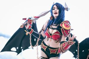 DOTA 2 - Akasha (Queen of Pain) by Shazzsteel