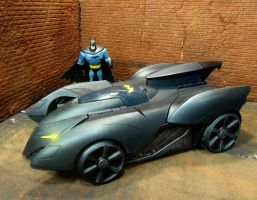 Custom Batmobile Repaint 1 by skphile