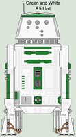 Green and White R5 Unit by MarcusStarkiller