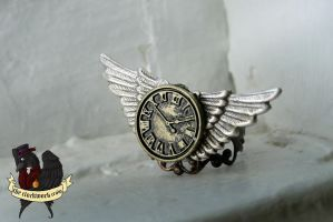 New Steampunk Ring by TheClockworkCrow