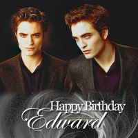 HBD Edward Cullen by SmokingOnTheBalcony