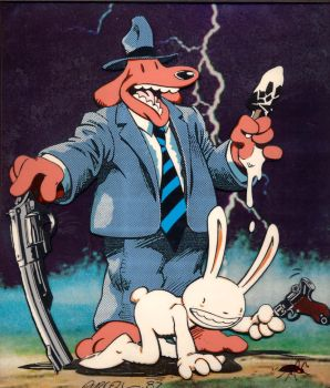 Sam and Max by dtwicked