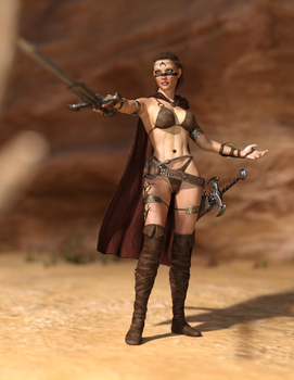 Barbarian Queen 2 by romofrog