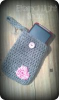 Stitched Heart Case for Iphone, Blackberry, Camera by xKornsFreakx