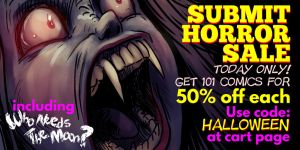 Comixology Halloween Sale 2014 by tamccullough