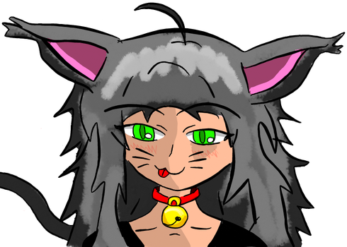 Hud (Female-cat prototype 01) by Umbramashii