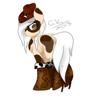 CowPony Adopt - Auction [CLOSED] by BusyBeingClever