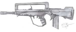 FAMAS G2 by CzechBiohazard