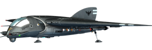 Fantasy Jet Fighter 01 PNG Stock by Roys-Art