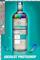 Absolut Photoshop by KreksofinArt