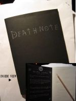 Death Note Notebook by Timelady93