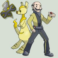Gym Leader George by G-FauxPokemon