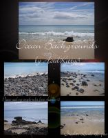 Free Ocean Background Stock by CitricLily