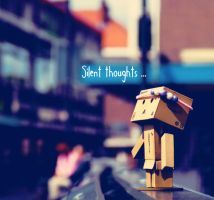 Danbo's Silent Thoughts by marjol3in1977