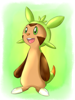 Chespin by kurisu-leon