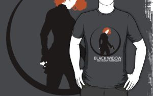The Avengers - Black Widow shirt by Mr-Saxon