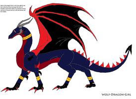 Zaim In His Dragon Form by Natalia-Clark
