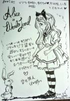 Alice Thankyou Note by loveandpeacetotoro