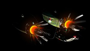 Podracer lost in space by Blodgrass