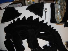 Toothless Back Spikes On! by Super3dcow