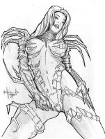 Witchblade Pencils by GeoPhreak