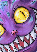 ATC - The Cheshire Grin by ResurrectorOfTheDead