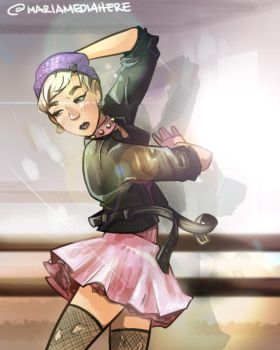 Punk Ballerina (Whatever You Wanna Be) by MariaMediaHere