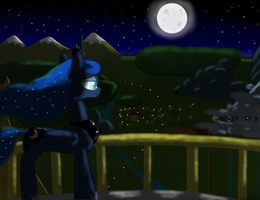 Guarding the Night by ccortxX