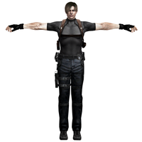 Leon Kennedy RE4UHD Agent by RealMoonlight