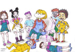 Rugrats not so grown up by timebaby3