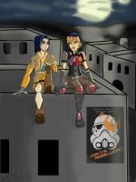 Star Wars Rebels: Hanging Out With Sabine by AvengerBlackwidow