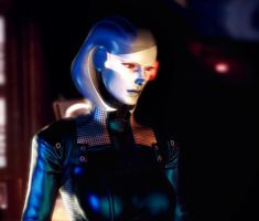 Portrait Series (Mass Effect): EDI by GSJennsen