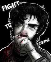 +Fight to Survive+ by KasaraWolf