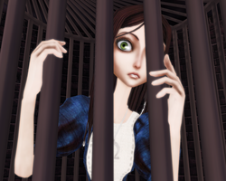 Caged in madness by Meeps-Chan