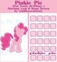 Pinkie Pie iPod Touch 5/iPhone 5 Wallpapers by wildflower4etrnty
