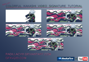 Kakashi Colorful Video Signature Tutorial by RadillacVIII