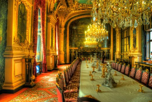 Napoleon's dining room - HDR by eterovick