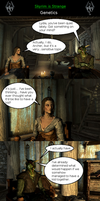 Skyrim is Strange - Genetics by HelloMyNameIsEd