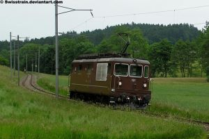 BLS Re 425 191 by SwissTrain