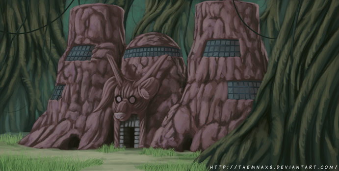 Killer Bee's House by themnaxs